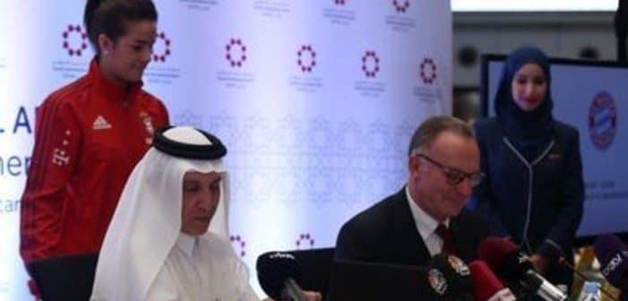 Bundesliga : un accord de sponsoring a été effectué entre le Bayern et le Qatar