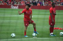 mohamed Salah à l'entrainement