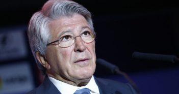 Enrique Cerezo Président de l'Atlético